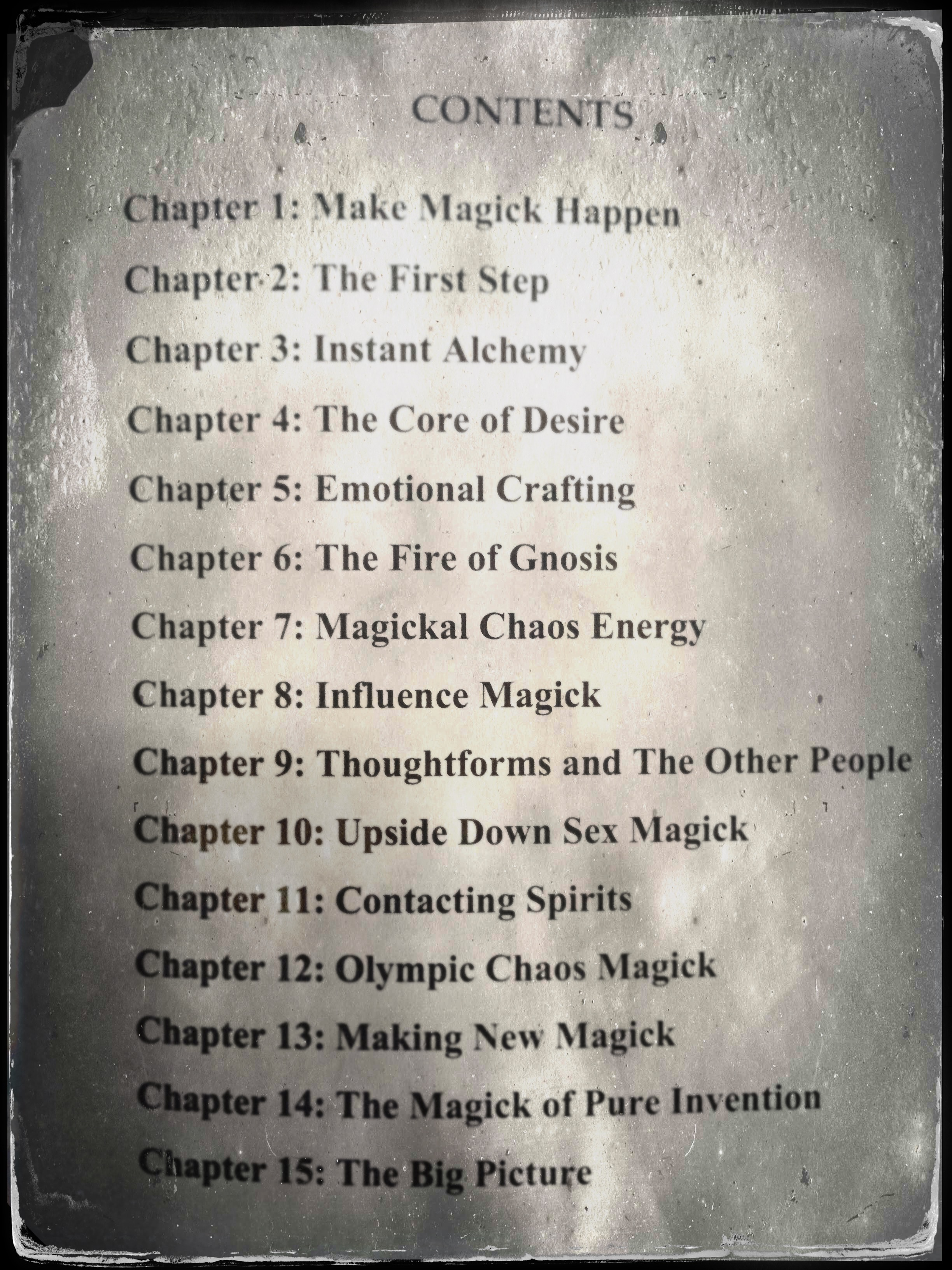 The Master Works of Chaos Magick – Review* – Eldritch Pop Kitsch